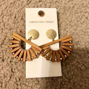 American Eagle bamboo earrings